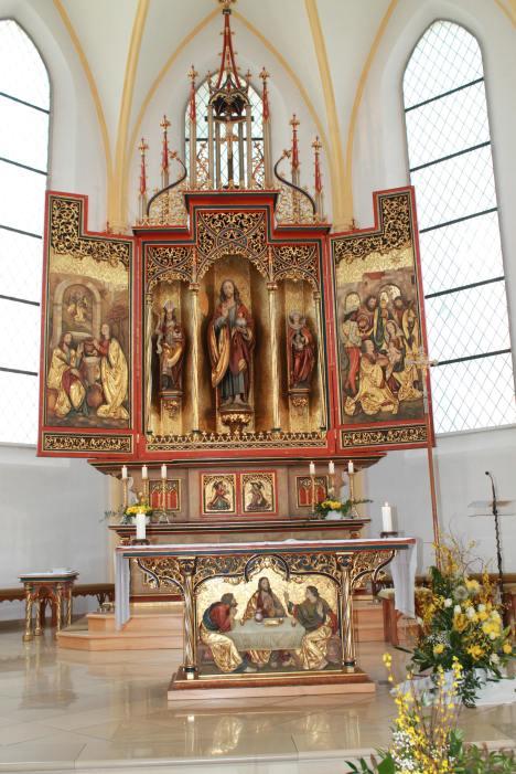 Altar in der Herz-Jesu Kirche