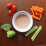 Smoky Vegan Ranch Dip