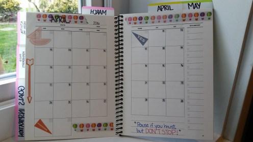 April month view