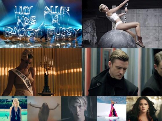 Best Videos pop 2013