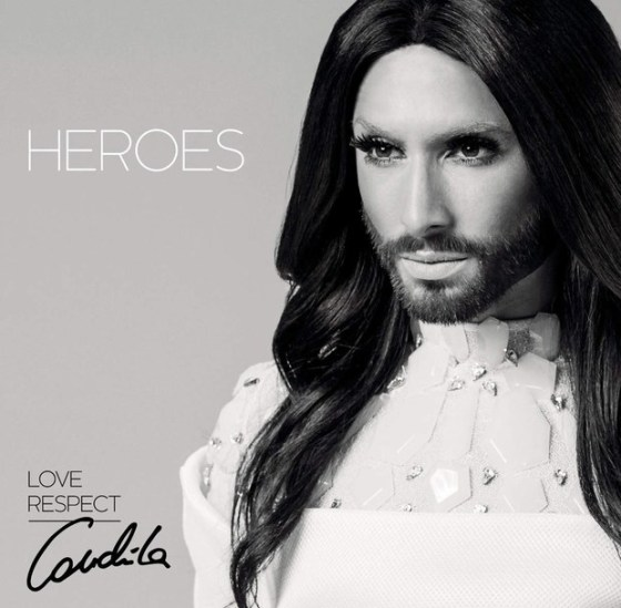 Conchita Wurst Heroes cover