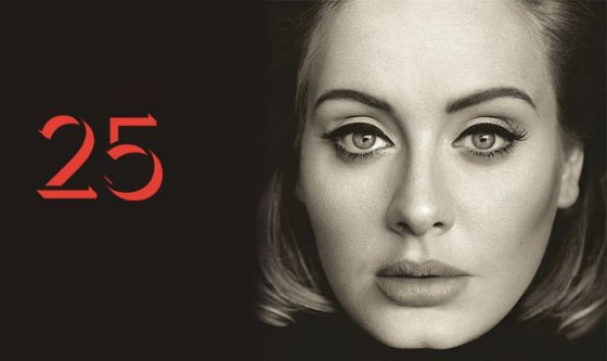 Adele 25 cover
