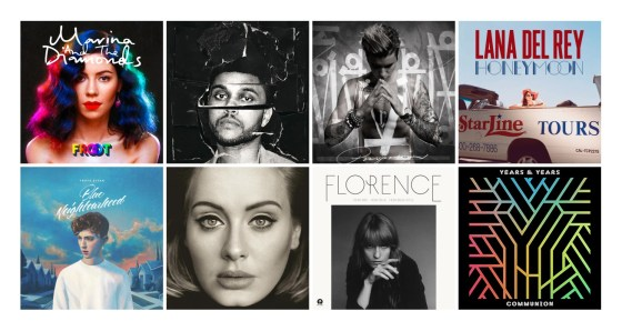 The Best Pop Albums of 2015 | A Bit Of Pop Music