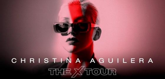 christina aguilera x tour