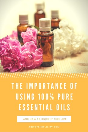 What are Essential Oils & Why is it Important to Use 100% Pure