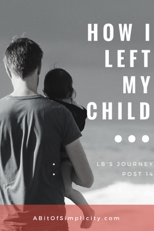 After going through open heart surgery, LB's mother is faced with an unexpected challenge: leaving her. Read her moving story here