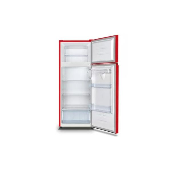 Hisense 205 Litres double Door Refrigerator With Water Dispenser RED