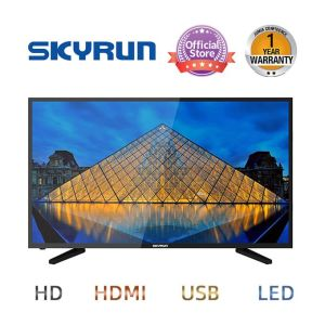 Skyrun 32 Inches LED HD TV With Free Wall Bracket