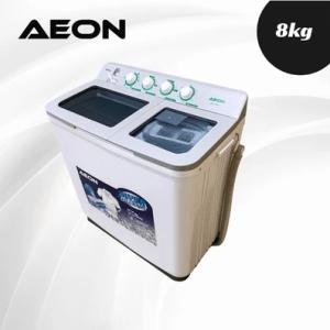 Aeon 8KG Twin Tub Washing Machine