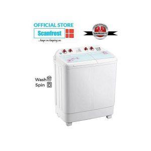 Scanfrost 8kg Twin Tub Semi-Automatic Washing Machine
