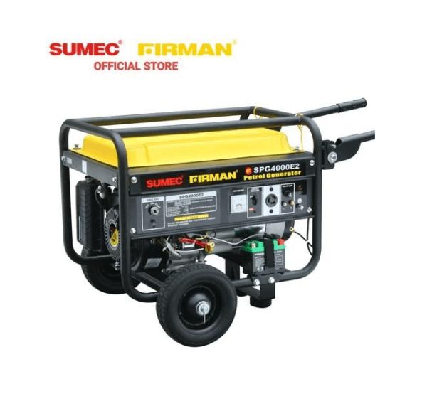 Sumec SPG 4000E2 Key Start 100% Copper Coil