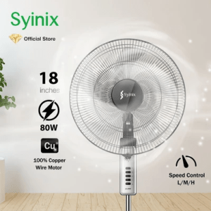 Syinix 18 Inches Standing Fan