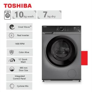 Toshiba 10Kg Front Loader Washing Machine