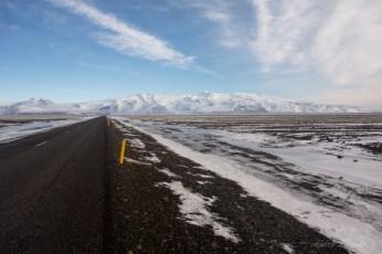 Blick auf Vatnajökull