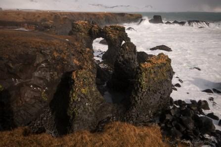 Steilküste von Arnarstapi später mit besserem Licht