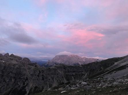 Dolomiten - Sonnenaufgang
