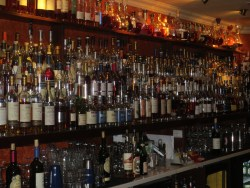 Bar One: One of the biggest Cognac selection in the world. With Cognac Leyrat !