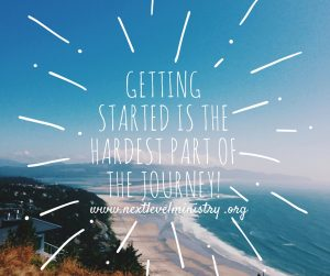 Getting started is the hardest part of the journey!