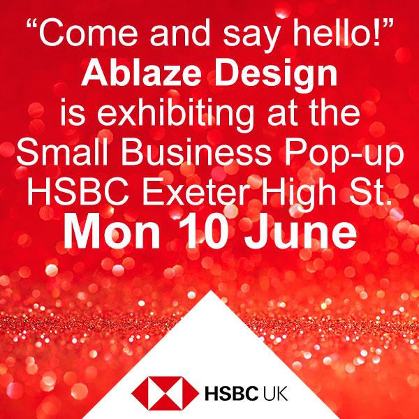 Pop-up Shop at HSBC June 2019