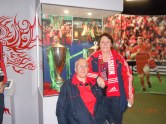 Declan & Jean in the museum