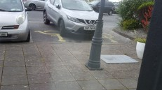 Inconsiderate parking - there's always one