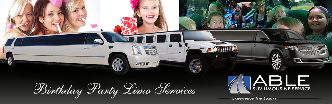 Dallas Birthday Limo Services Birthday Party Limousines