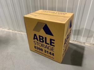 Book wine box cardboard removals