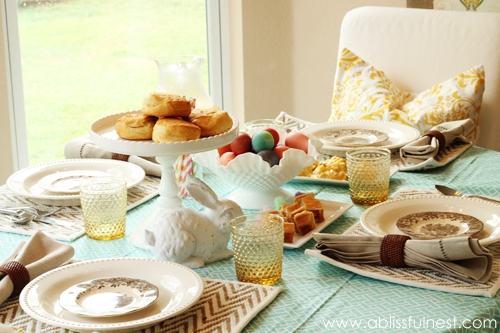 Spring Table Setting Ideas A Blissful Nest