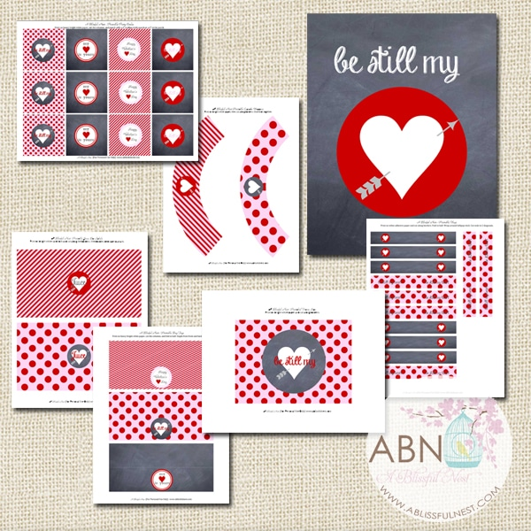 Valentines Party Collection - A Blissful Nest