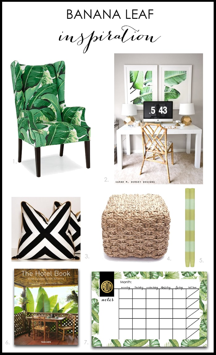 Gorgeous Banana Leaf Home Decor Ideas!