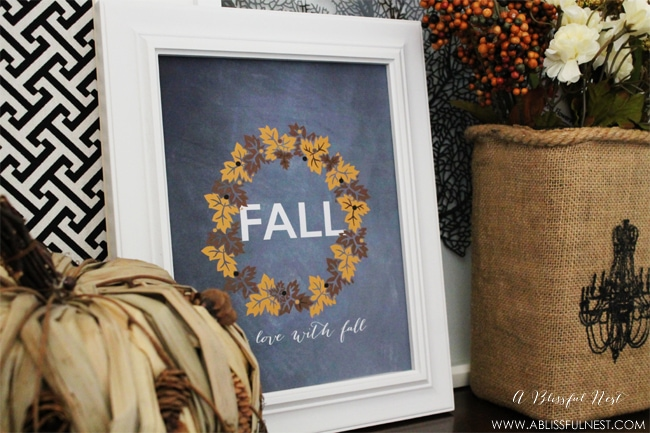 Fall Free Printable by A Blissful Nest 003