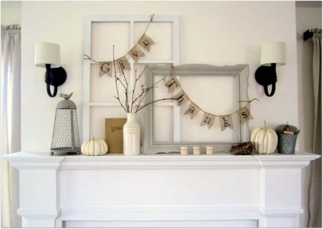 Proverbs 31 Girl Fall Mantel