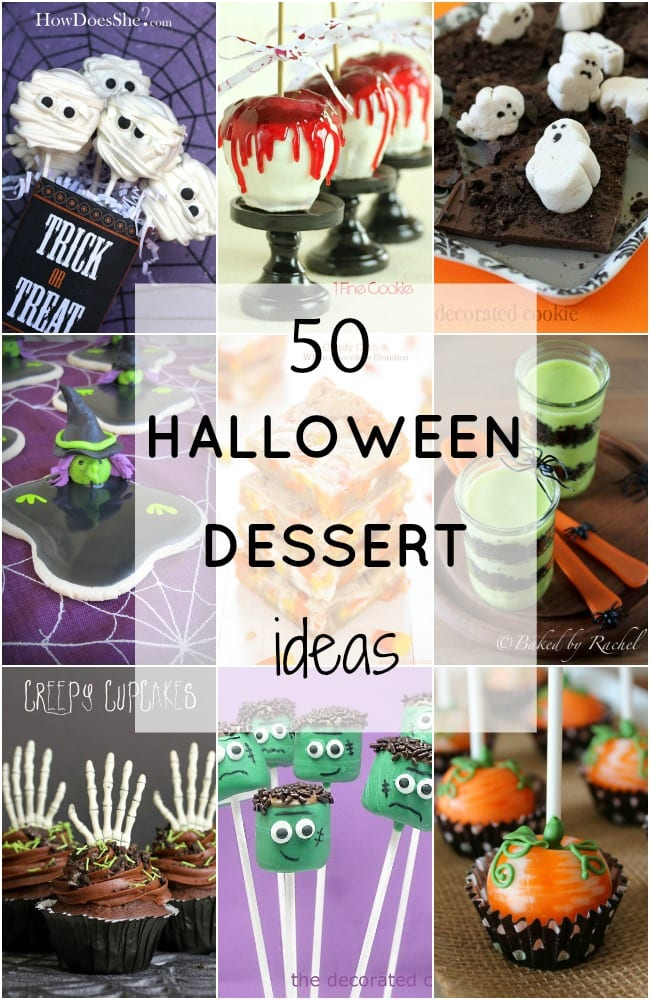 Halloween Dessert Ideas
