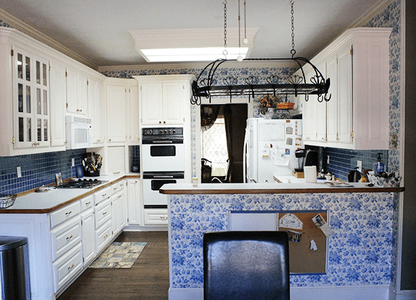 The Mateer Residence – Kitchen Before + Plans