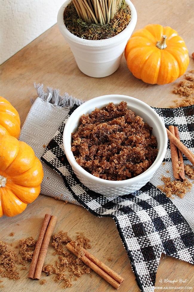 Pumpkin Pie Sugar Scrub by A Blissful Nest