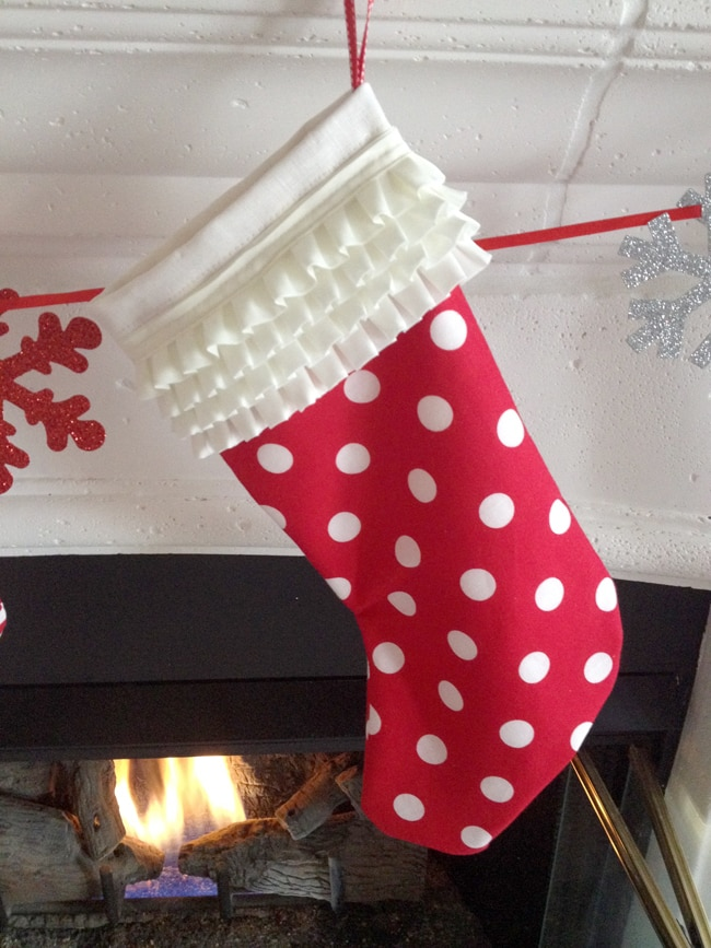 Create your own DIY Christmas Stockings with this tutorial!