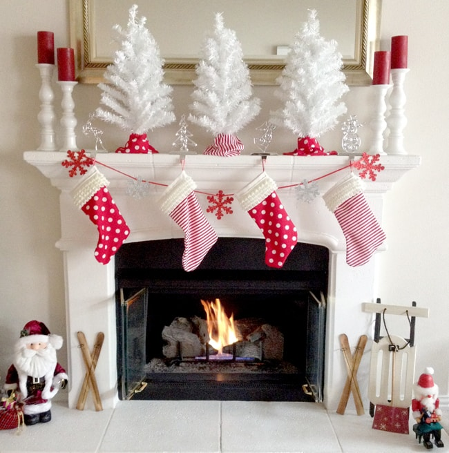 Create your own DIY Christmas Stockings with this step by step tutorial.
