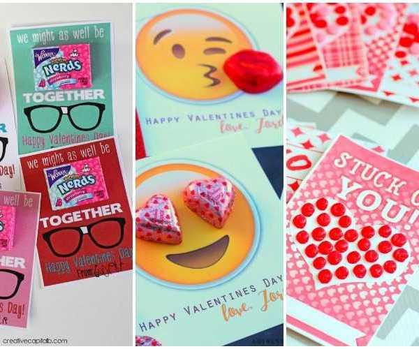 20 DIY Valentine's Day Card Ideas