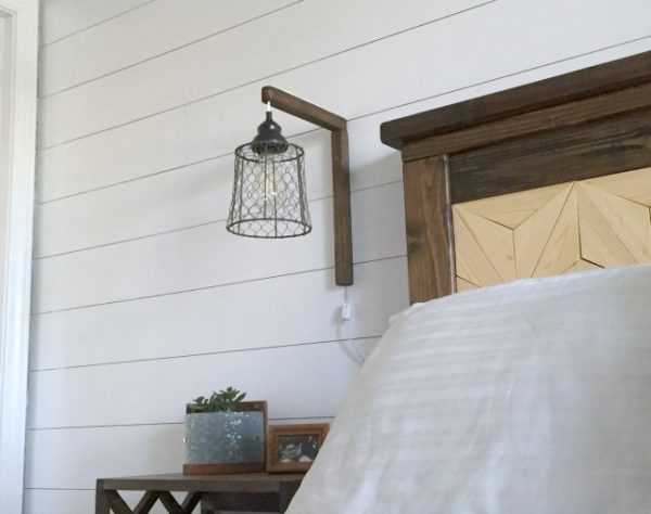 DIY Plug in Sconces from Pendant Lights by My Love 2 Create, 20 DIY Farmhouse Projects