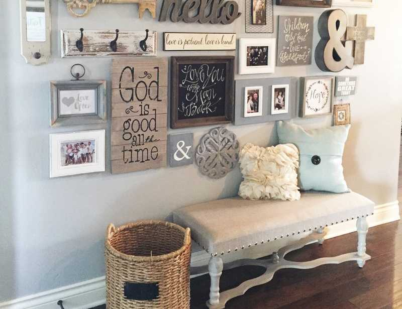 How To Create A Gallery Wall In Your Home A Blissful Nest