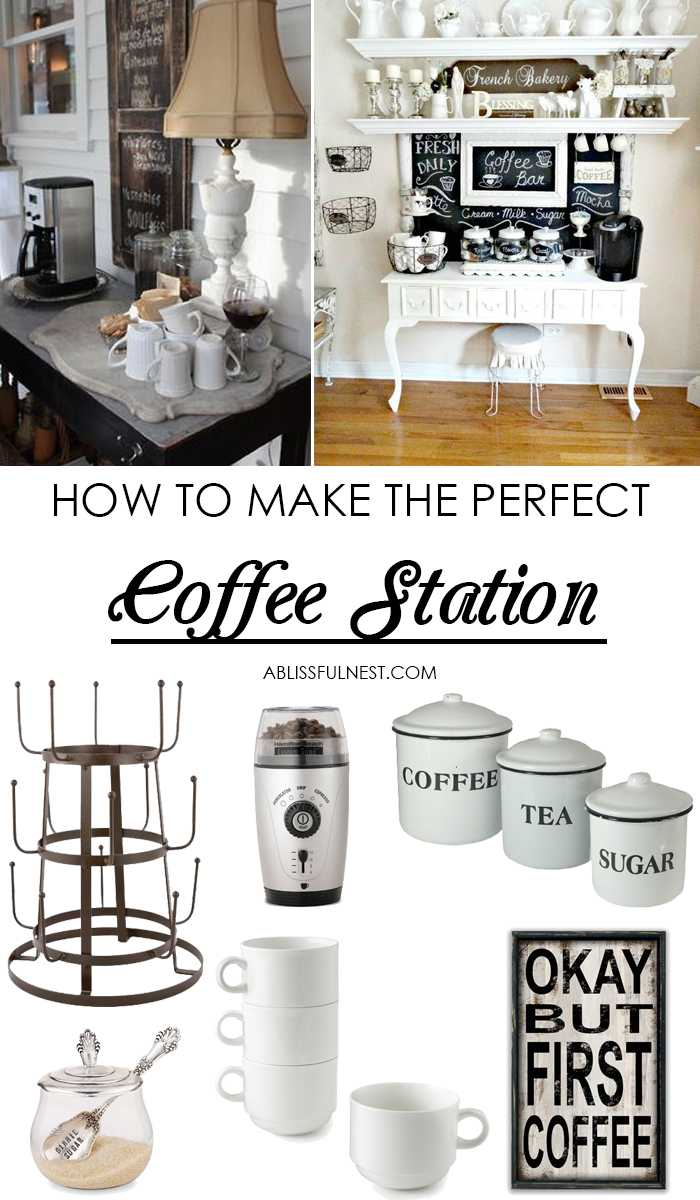 Coffee Bar Ideas How To Make A Coffee Bar At Home