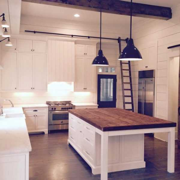 Farmhouse Kitchen Ideas for Fixer Upper Style + Industrial ... on Farmhouse Counter Tops  id=37579