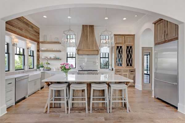 Farmhouse Kitchen Ideas For Fixer Upper Style Industrial Flare