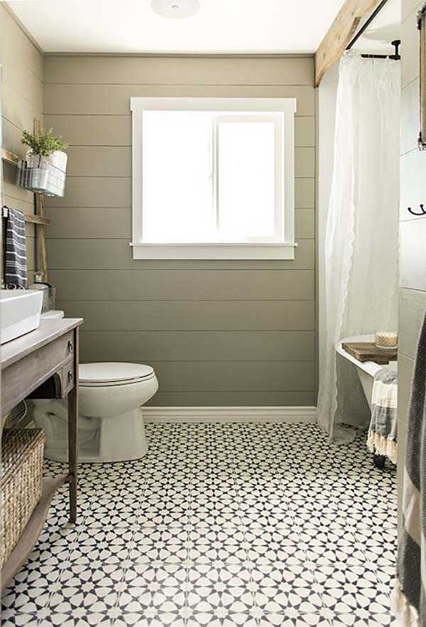 One Kind Design, 20 Best Farmhouse Bathrooms .  #ABlissfulNest #InteriorDesign #Decorator #Stylist #Blissful #HappyHome #designtips #Farmhouse #FarmhouseDecor #farmstyle #farmdecor