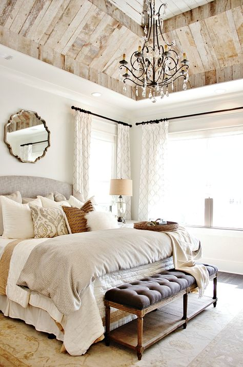 These are the most gorgeous bedrooms I've ever seen! So many great ideas for decorating your bedroom. https://ablissfulnest.com/ #masterbedroom #bedroomideas #masterbedroomideas