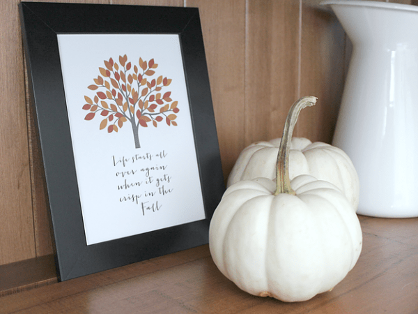 White House Crafts Fall Printable, 30 Free Fall Printables