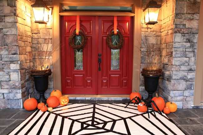 bower power blog 20 fabulously spooky halloween front porches