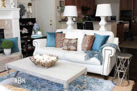 Fall Living Room Makeover   Tips For Perfect Seasonal Decor Get these tips to transition your living room from summer to fall d    cor   This fall