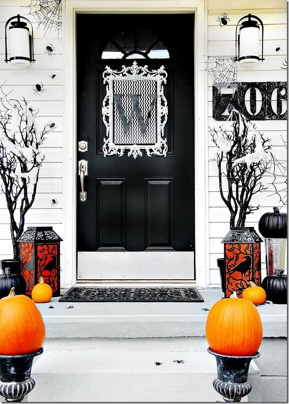 thistlewood farms 20 fabulously spooky halloween front porches