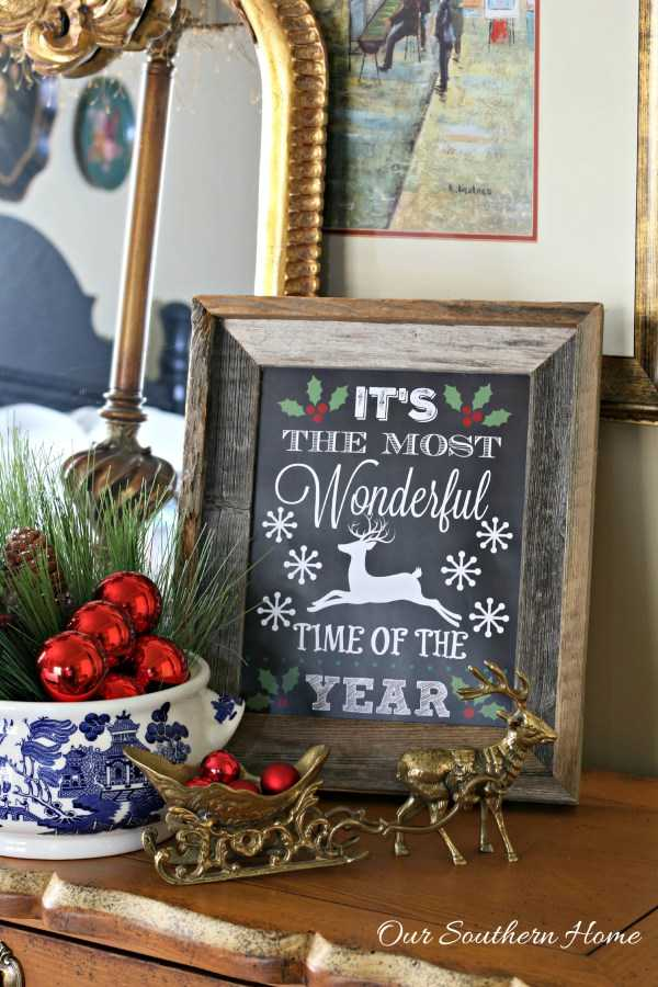 30 Free Christmas Printables Youll Love A Blissful Nest